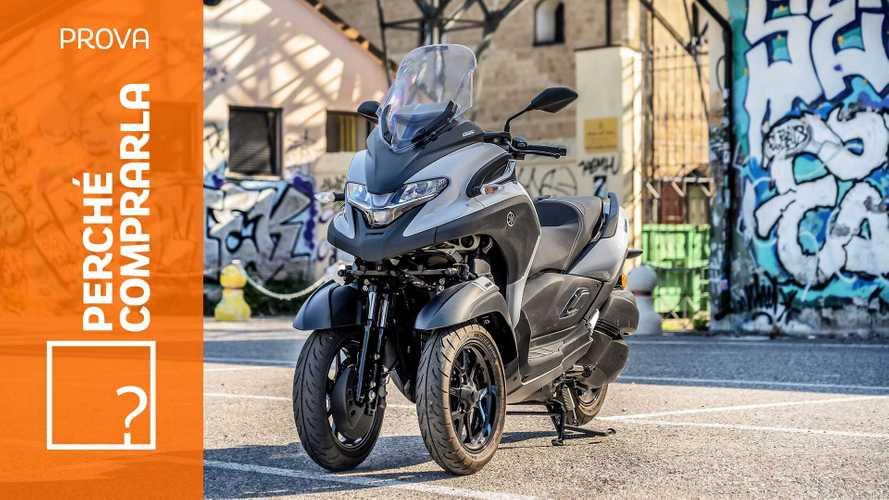 Yamaha Tricity 300 | Perché comprarla… E perché no