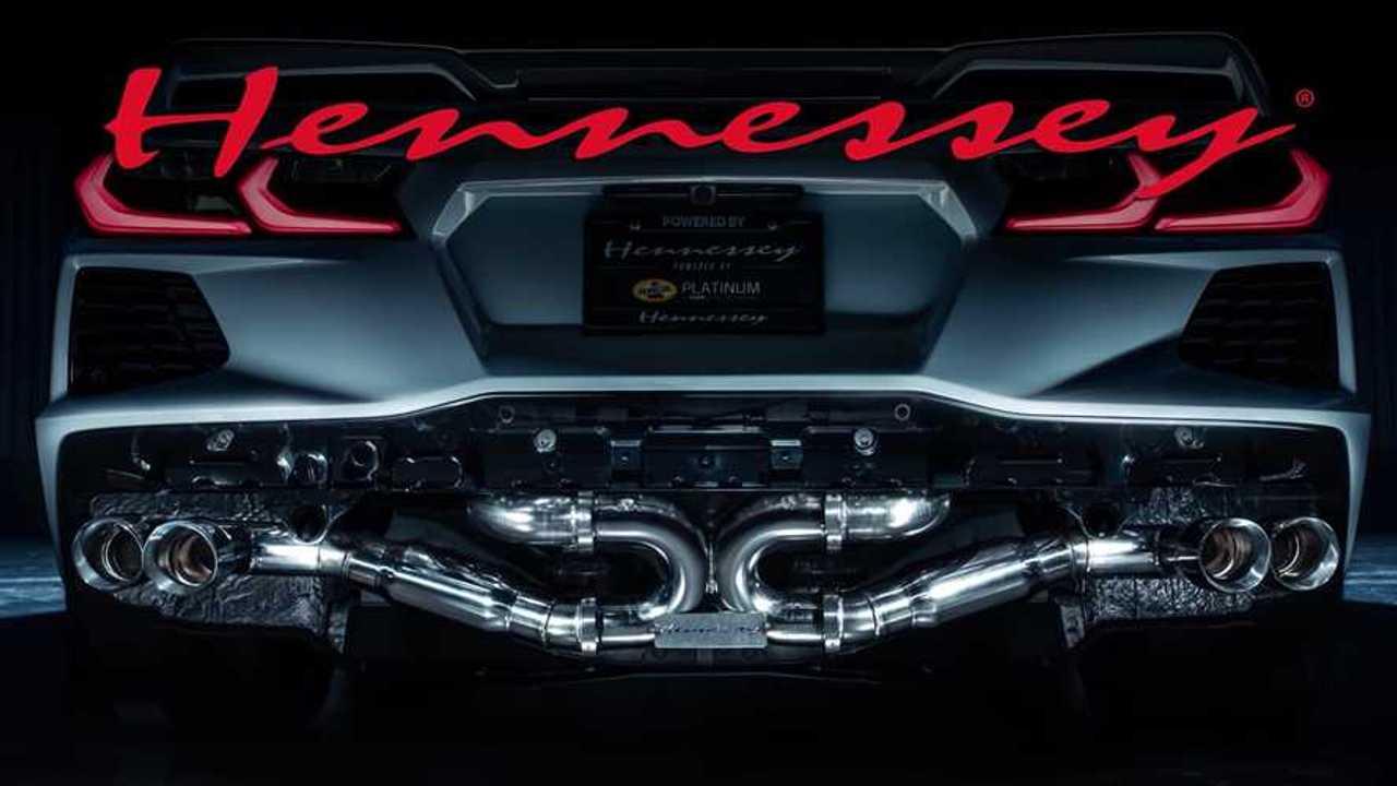 Hennessey Chevy Corvette C8 Exhaust Video