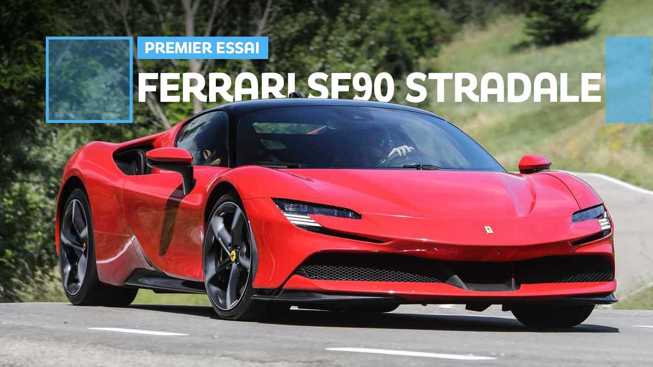 Vignette essai Ferrari SF90