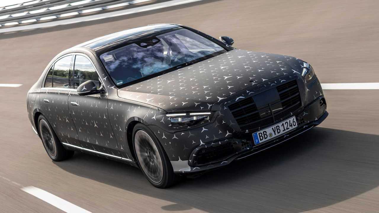 Mercedes S-Klasse (2021): Airbags, direction d'essieu arrière