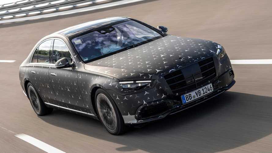 Mercedes S-Klasse (2021) bekommt Hinterachslenkung, Fondairbag und mehr
