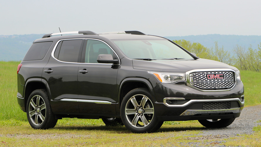 First Drive: 2017 GMC Acadia