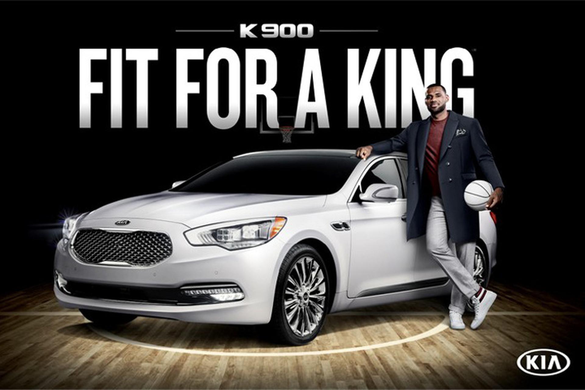 Can LeBron James Make the Kia K900 Cool?