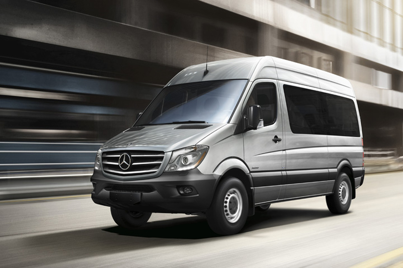 A Mercedes-Benz Sprinter Can Actually be a Bold Ride