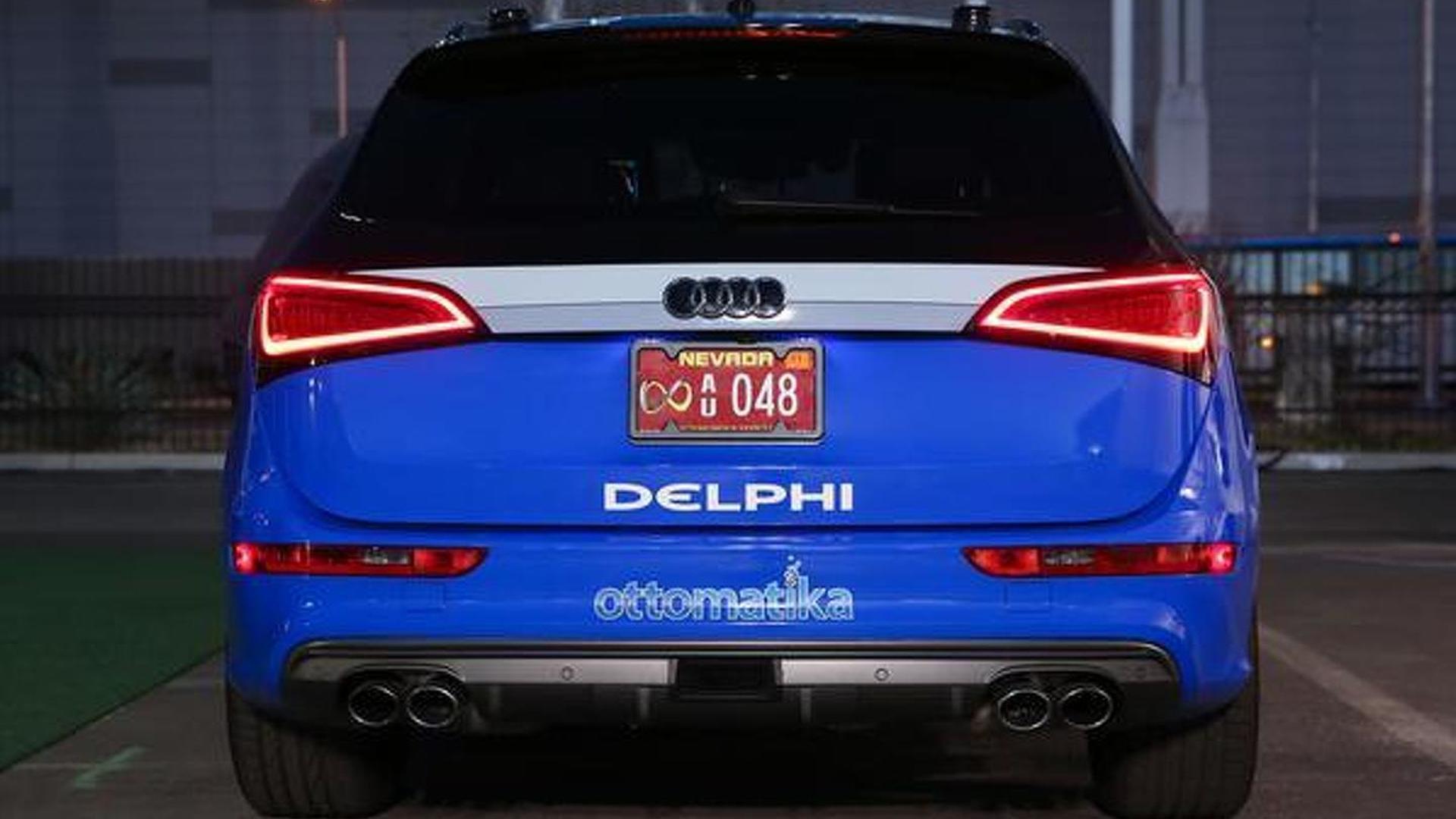 Delphi's autonomous Audi S Q5 will embark on a coast-to-coast trip