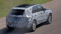 Mercedes-Benz GLE spy photos