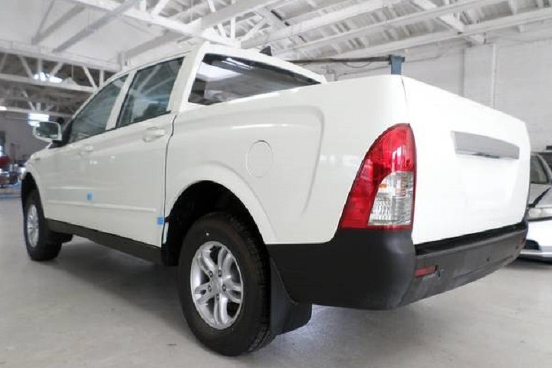 Korean Ssangyong Actyon Sport Truck For On Craigslist