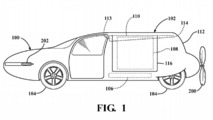Toyota Flying Car Patent