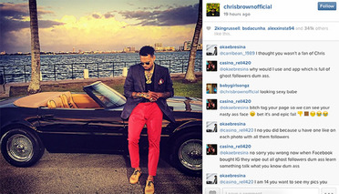 Chris Brown Contemplates Life, Stunts With a Trio of Italian Icons