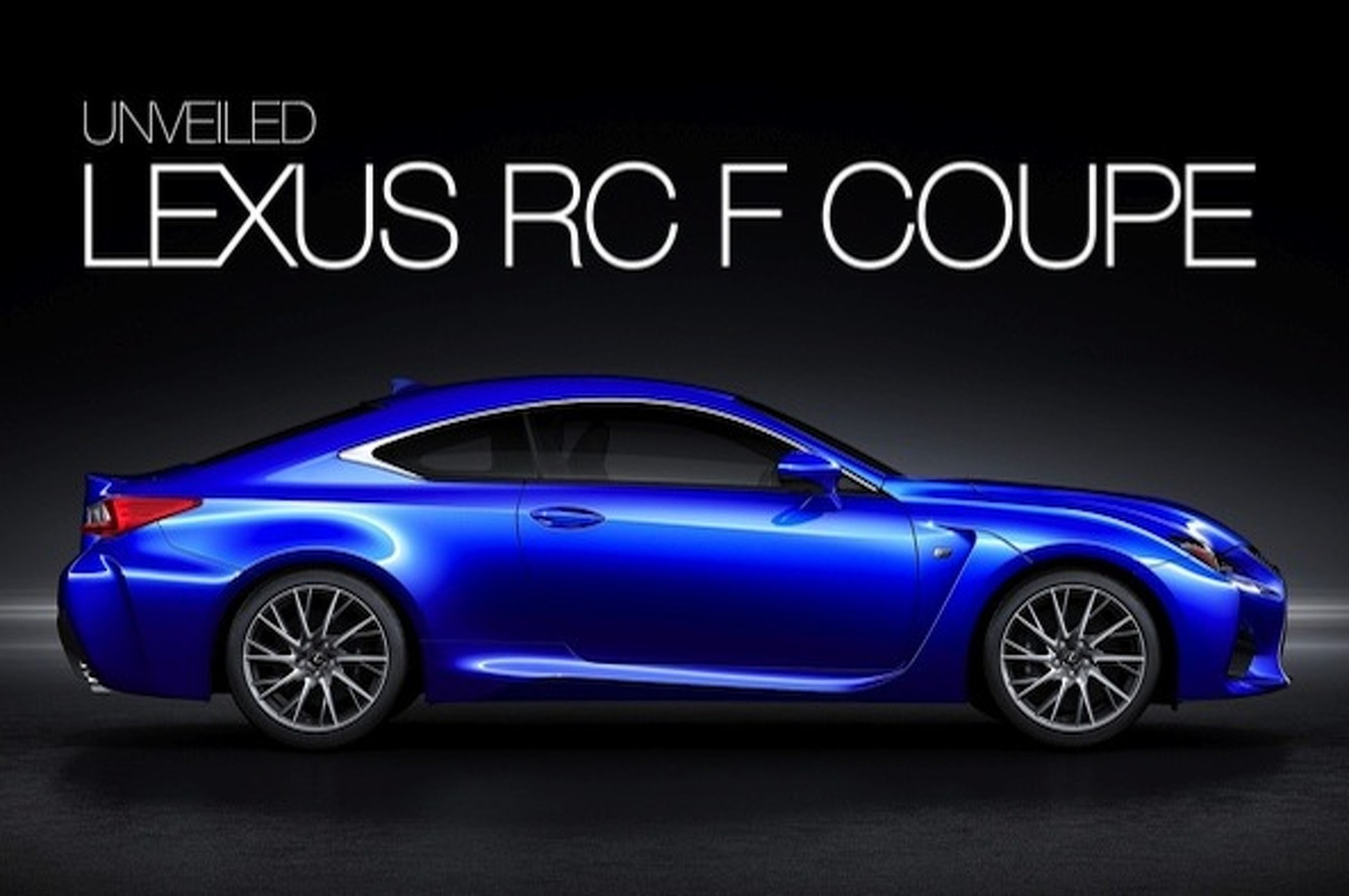 Lexus RC F is the Lexus Coupe We've Been Waiting For