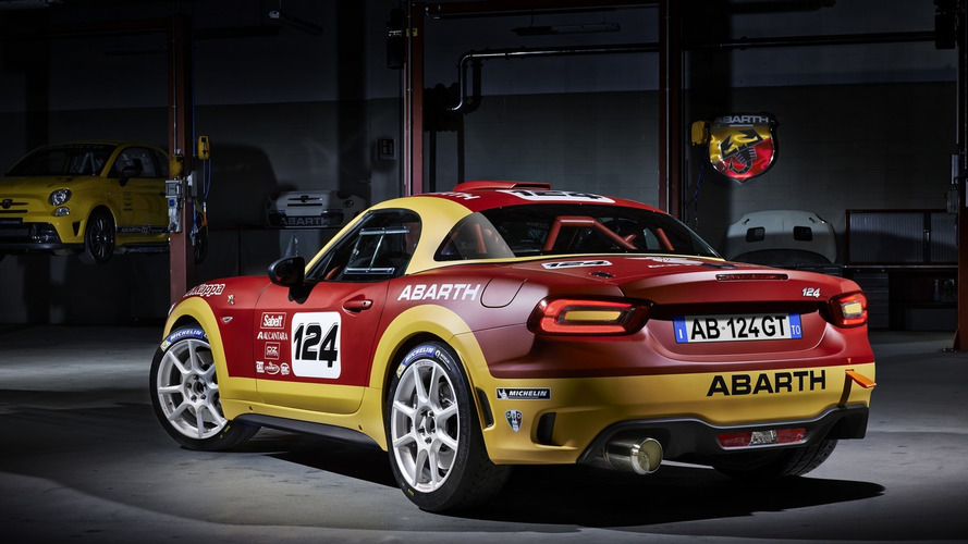 Abarth 124 Spider rally version