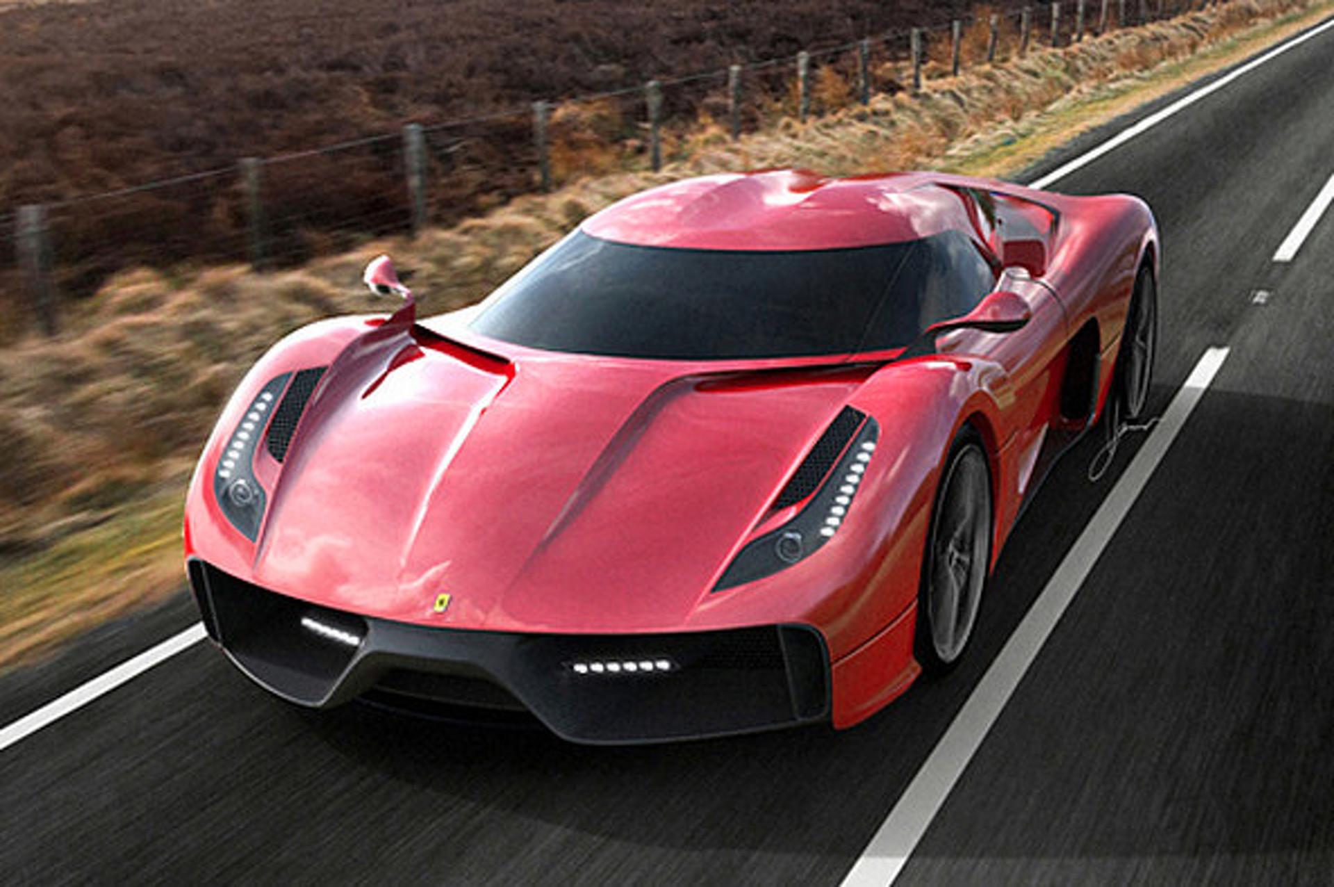 Ugur Sahin Design Project F is a Ferrari 458,Based Work of Art
