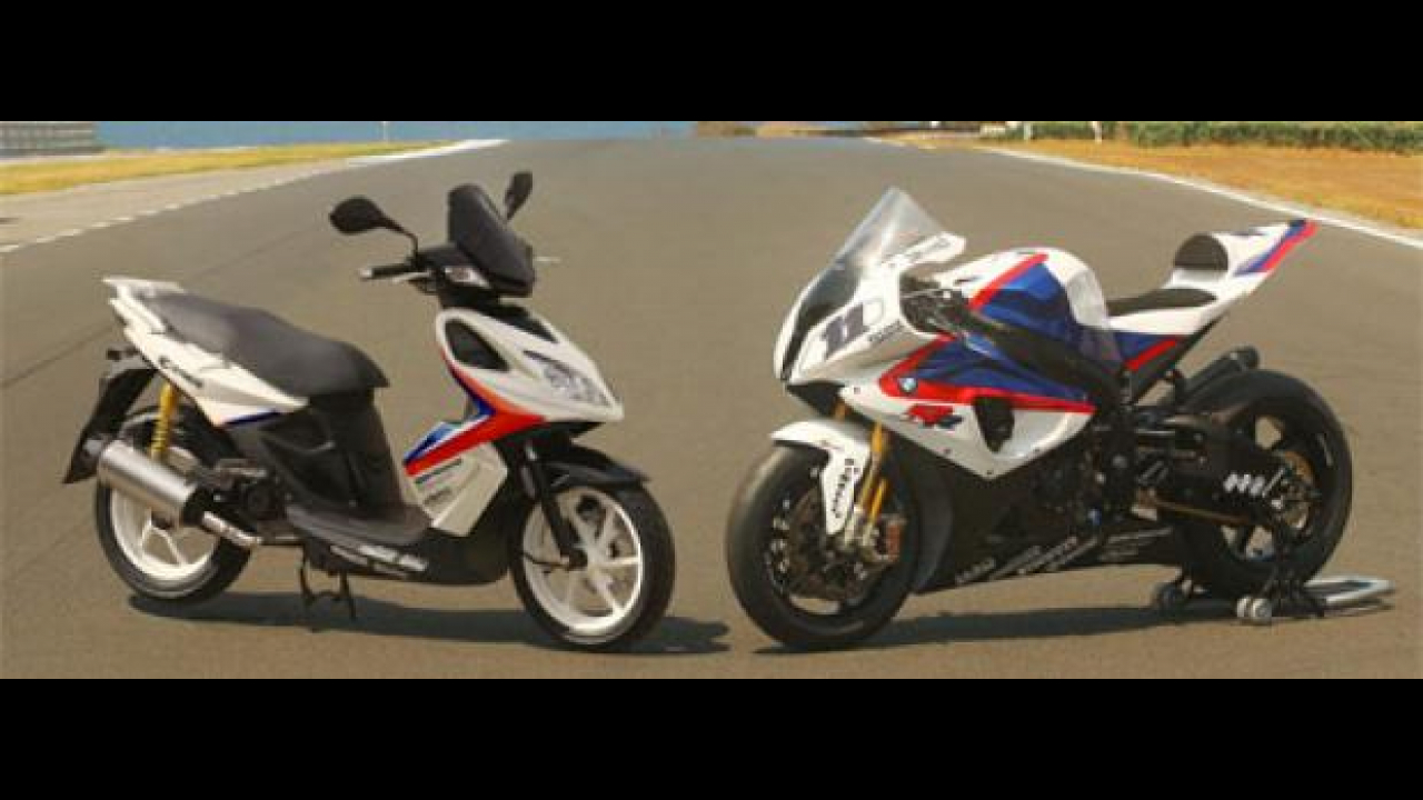 Kymco Super 8 per il Team BMW Motorsport