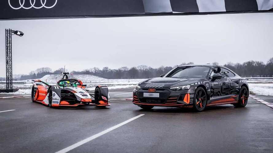 Audi RS e-tron GT vs Formule E