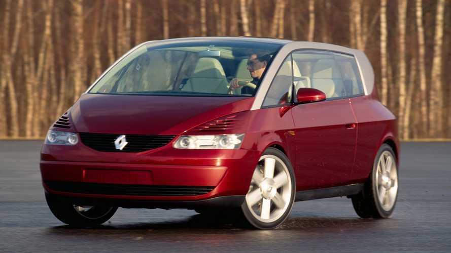 Renault Avantime, talmente strana che l'hanno fatta davvero