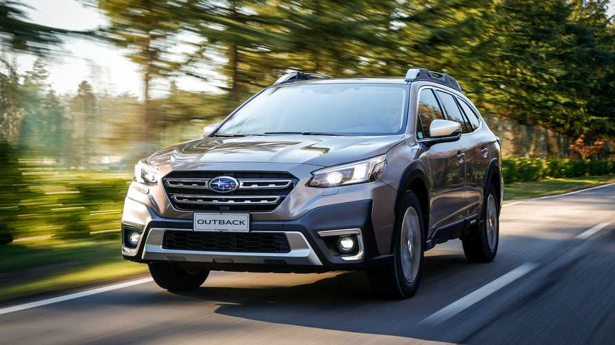 Subaru Outback Model Year 2021 - La prova su strada