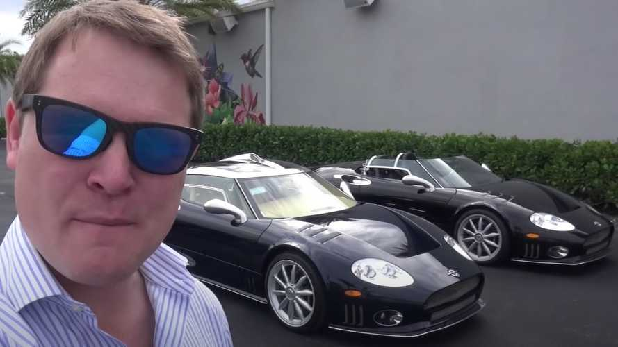 Spyker C8 Laviolette gets an in-depth review from Shmee
