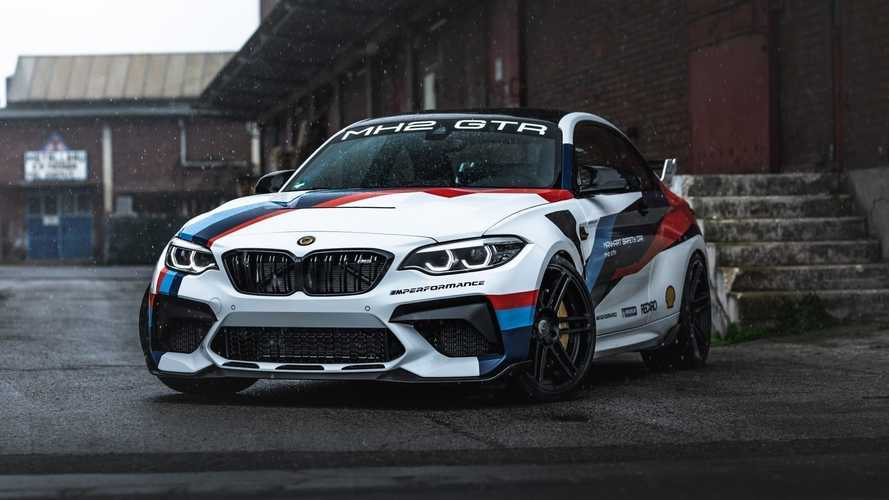 BMW M2 CS By Manhart Is A Track Toy Taken To The Extreme