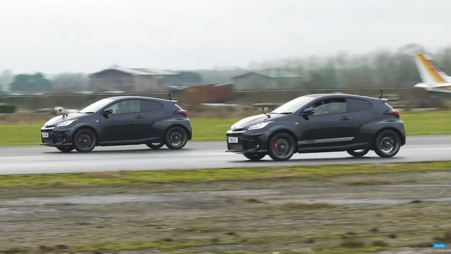 Toyota GR Yaris Drag Races Itself To See If A $900 Tune Is Worth It