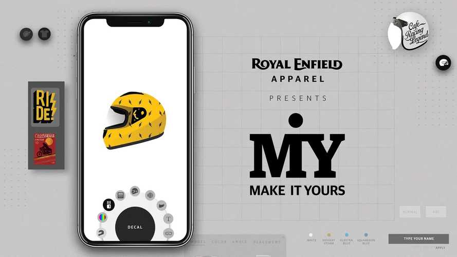 You Can Now Customize Your Gear To Match Your Royal Enfield