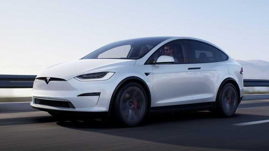 2021 Tesla Model X restylé