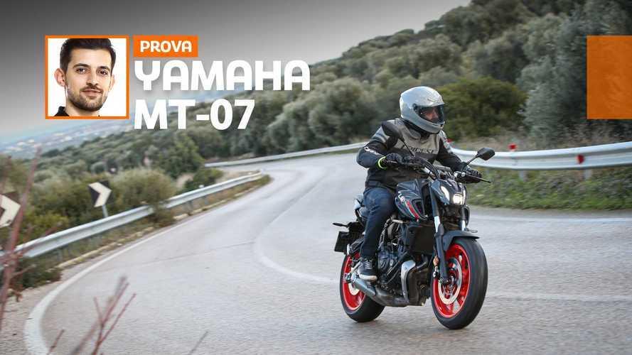 Yamaha MT-07 2021, ecco come va. Prova