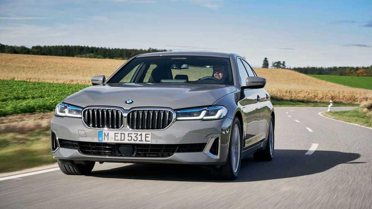 BMW 520e Berline