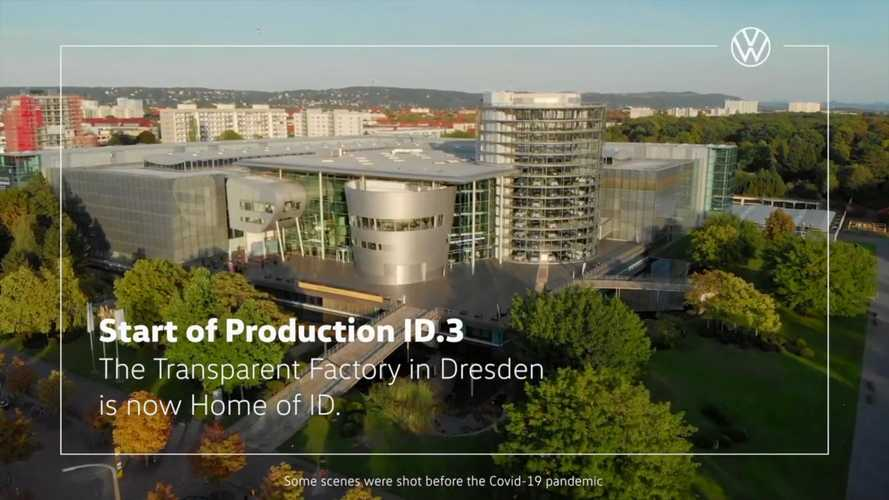 Volkswagen Starts The ID.3 Production At Its Dresden Plant