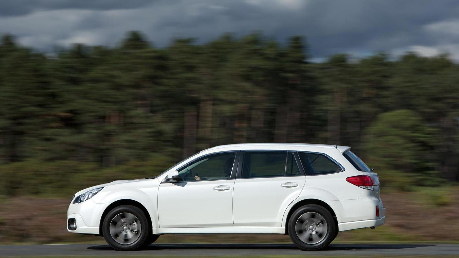 subaru outback gets minor facelift and new diesel