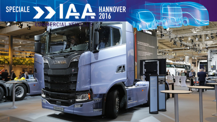 IAA Hannover 2016, Scania Serie S è Truck of the Year