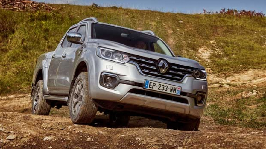 Renault Alaskan all'esordio europeo