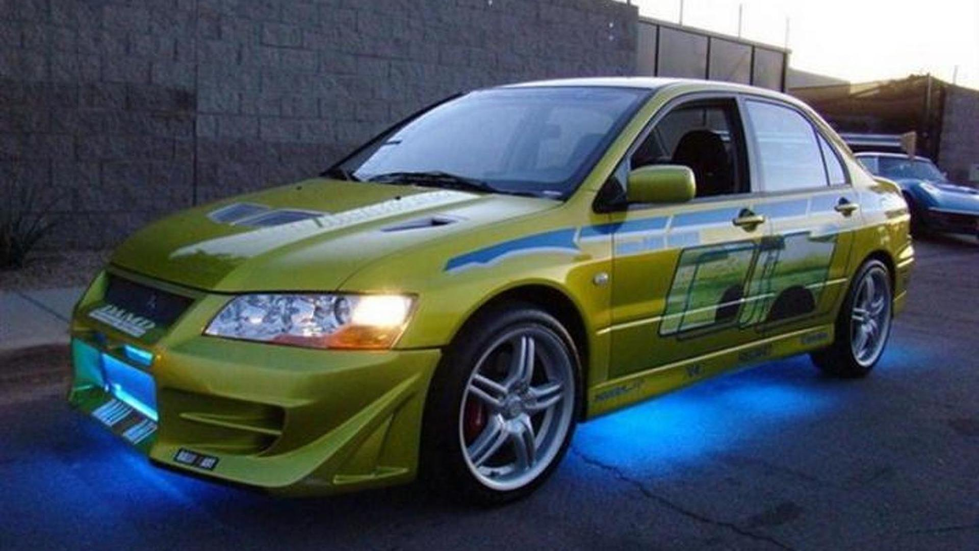 Paul Walkers Mitsubishi Evo From 2 Fast Furious Available On EBay