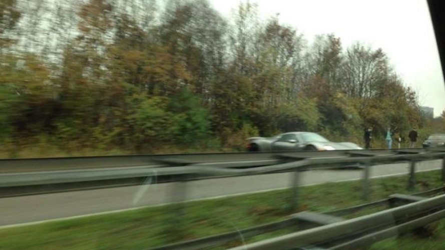 Porsche 918 Spyder crashed on German Autobahn likely to be first of many