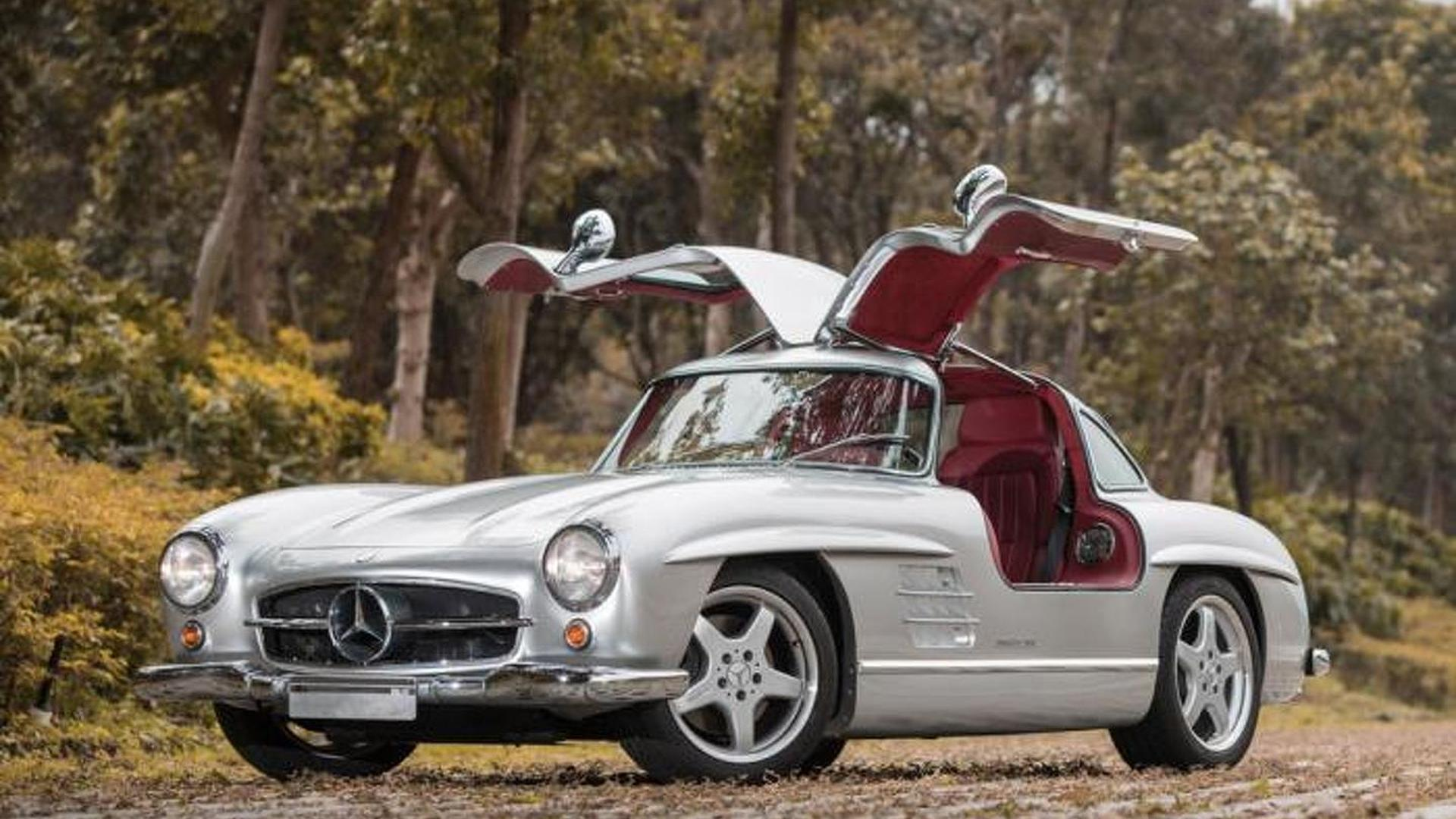 1954 Mercedes-Benz 300 SL with official AMG restomod to be