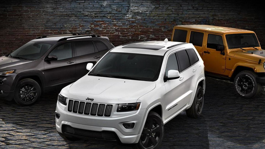Jeep Cherokee, Grand Cherokee & Wrangler Altitude editions revealed