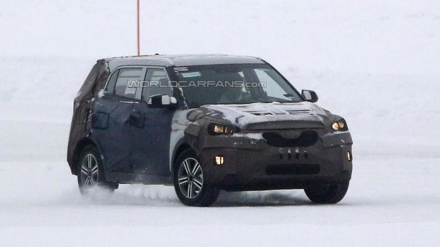 2014 Hyundai ix25 spied in Scandinavia ahead of Beijing Motor Show launch in April