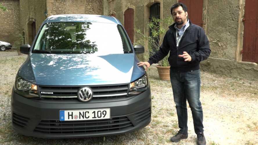 Volkswagen Caddy, prime impressioni