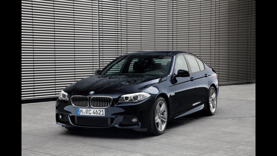 BMW Serie 5: nuovi motori e xDrive