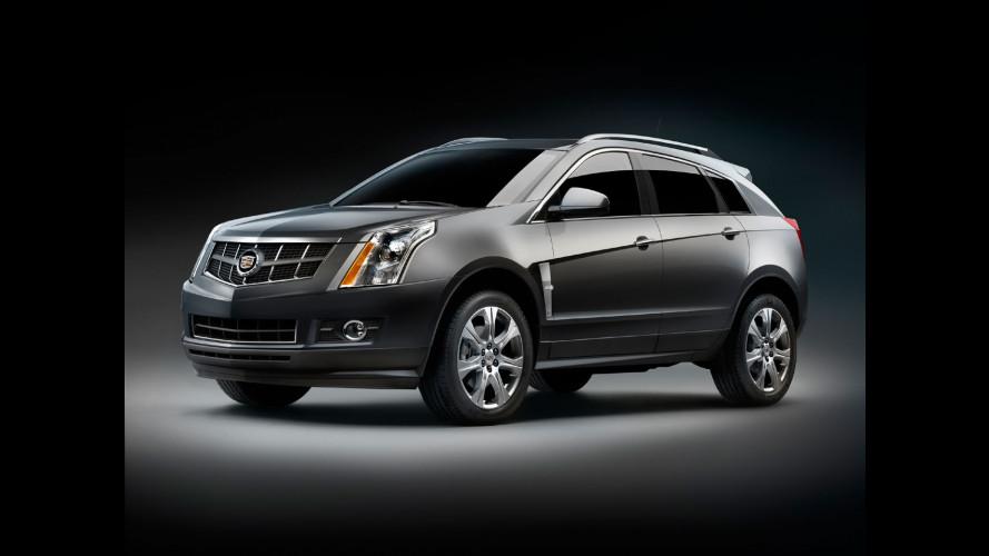GM studia un'ibrida plug-in per la Cadillac SRX