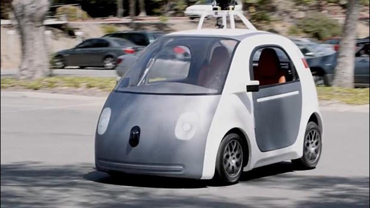 [Copertina] - Google car e le altre auto che guidano da sole