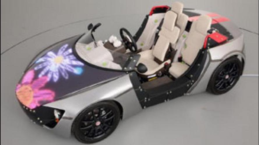 Toyota Camatte Concept, l'auto a portata di bambino