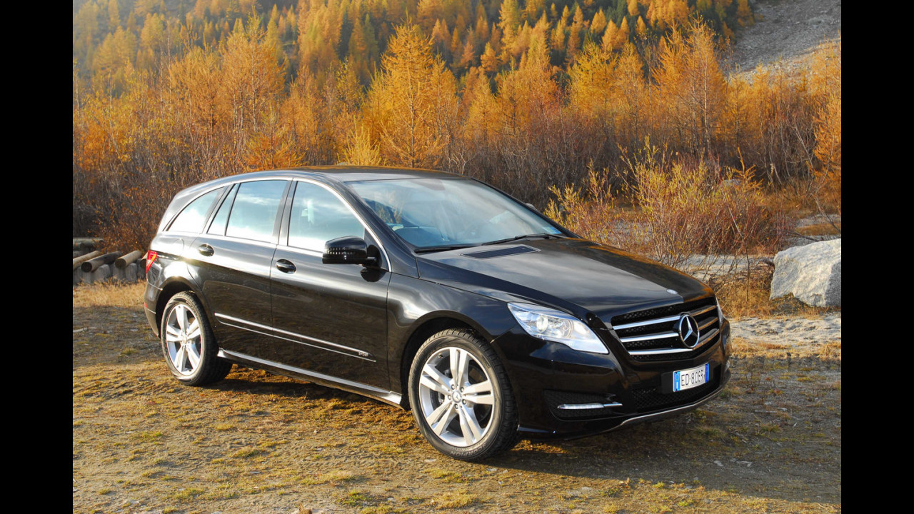 Mercedes R 350 CDI 4Matic Sport - TEST