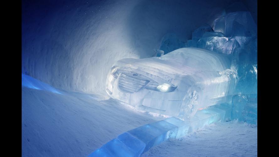 Saab Aero X concept... di ghiaccio