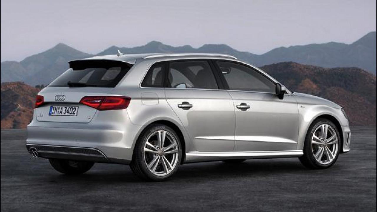 [Copertina] - Nuova Audi A3 Sportback: prezzi a partire da 23.900 euro