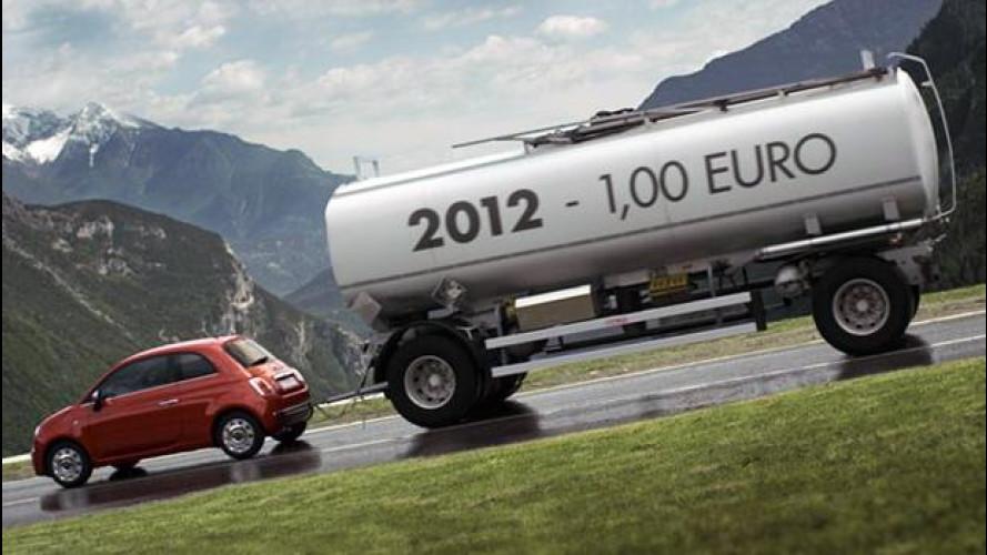 Fiat multata per pubblicità ingannevole sulla benzina a 1 euro
