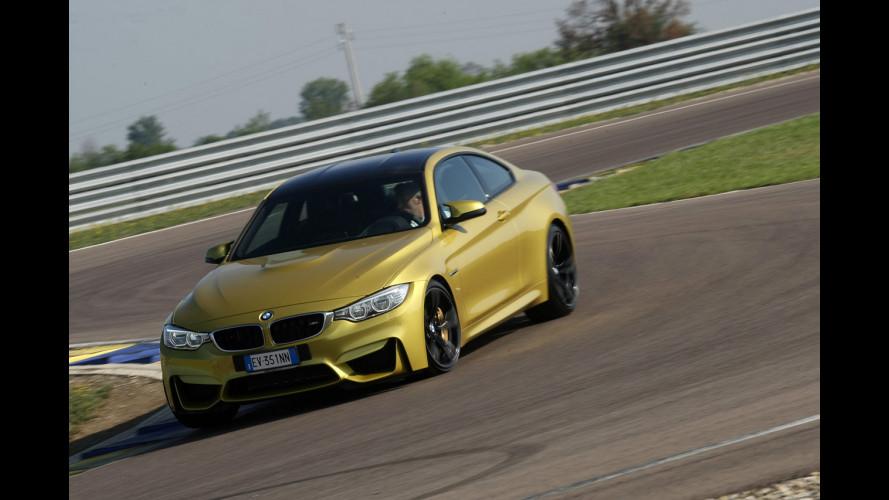 Le  nuove BMW M3 e M4 calzano Michelin Pilot Super Sport