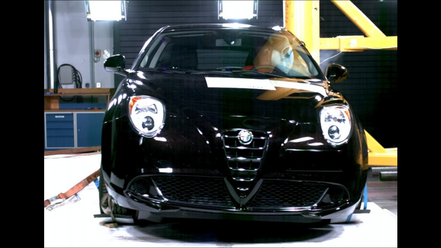 Cinque stelle EuroNcap anche per l'Alfa Romeo MiTo