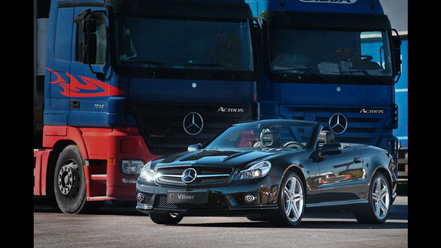 Mercedes SL 63 AMG Shadow Line by Vilner Studio