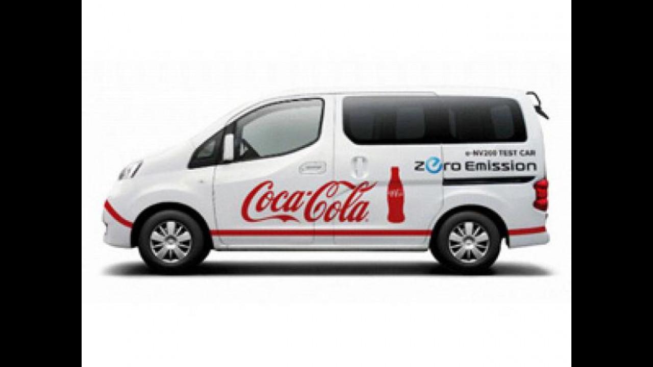 [Copertina] - Nissan: la Coca-Cola arriva con il furgone elettrico