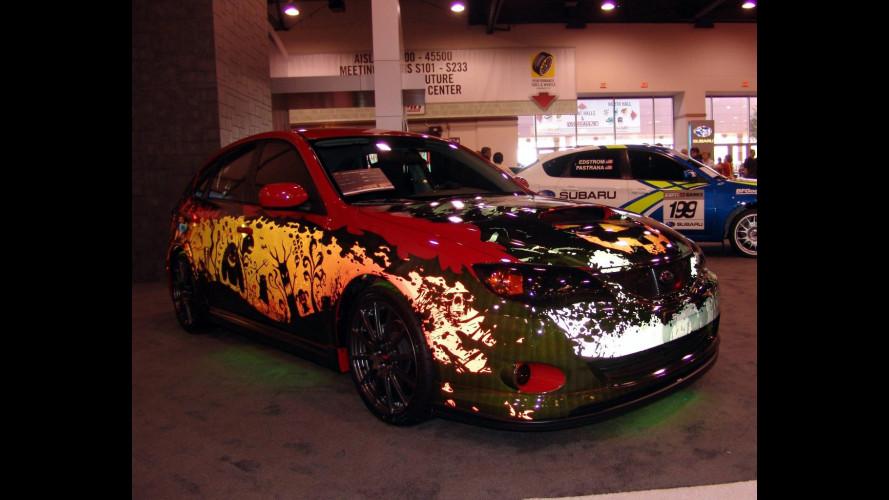 Anche Subaru Impreza ha festeggiato Halloween